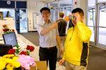 Jason Lin wins a pair of Google Cardboard glasses in the Maker Day Video Contest