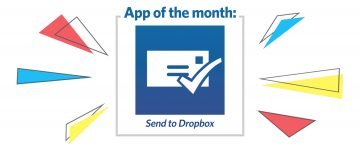App of the Month: Send to Dropbox