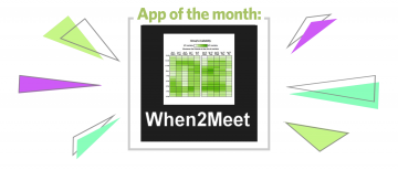 App of the Month: When2Meet